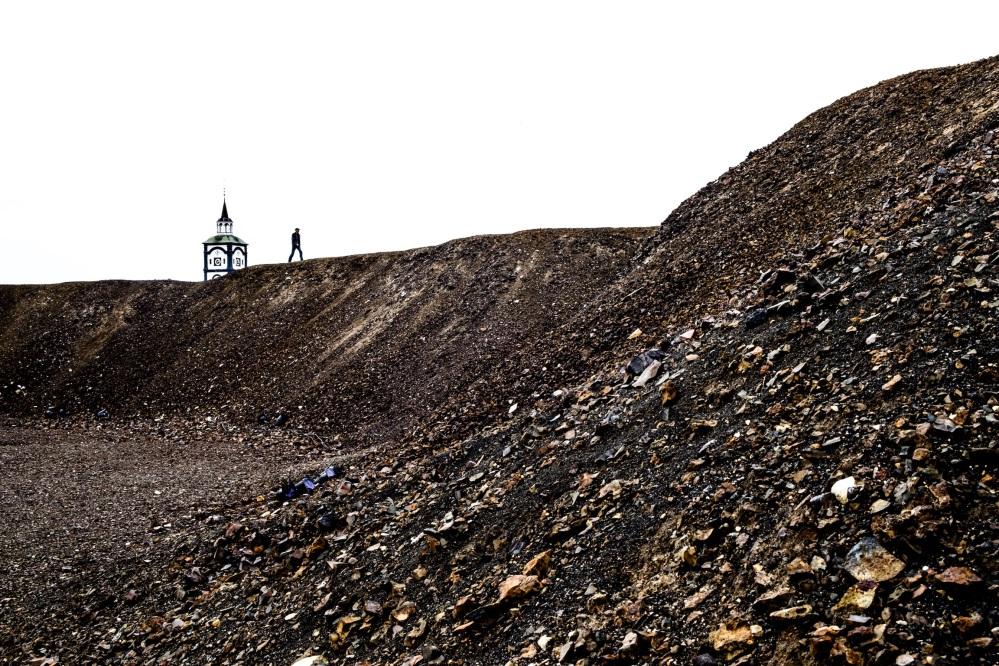 Bilde 17. Slagghaugene i verdensarvbyen Røros