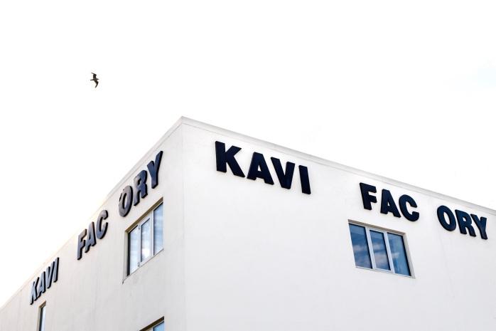 Kaviar Factory, et sus fra den store kunstverden